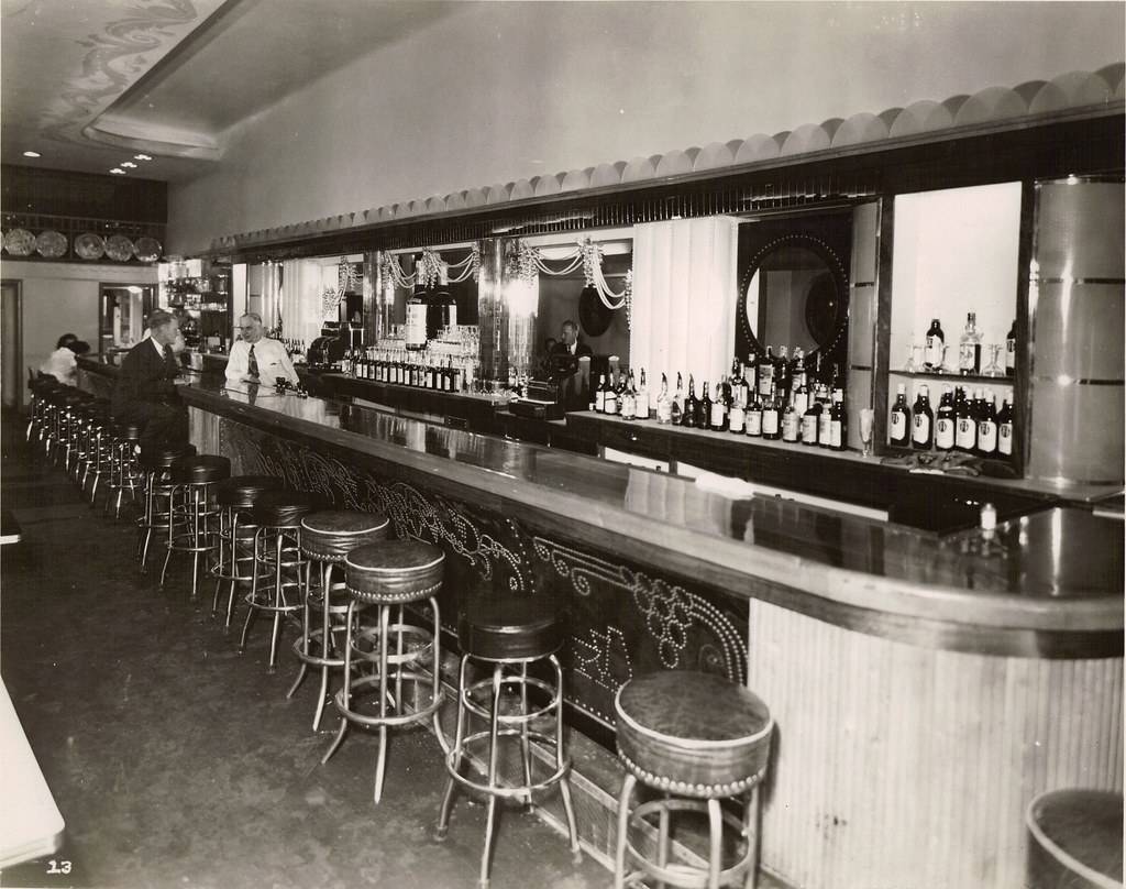 Interior Of The Village Cafe Circa 1940 S Inside The