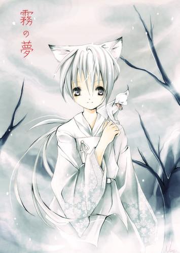 anime fox boy gomugomu no nare flickr