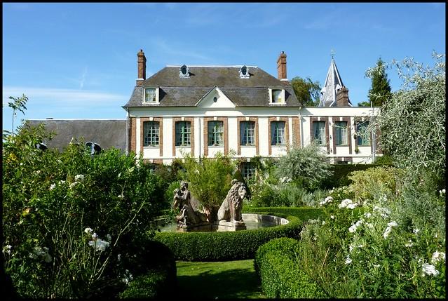 Manoir Des Jardins D Angelique Joli Jardin De Normandie A Flickr