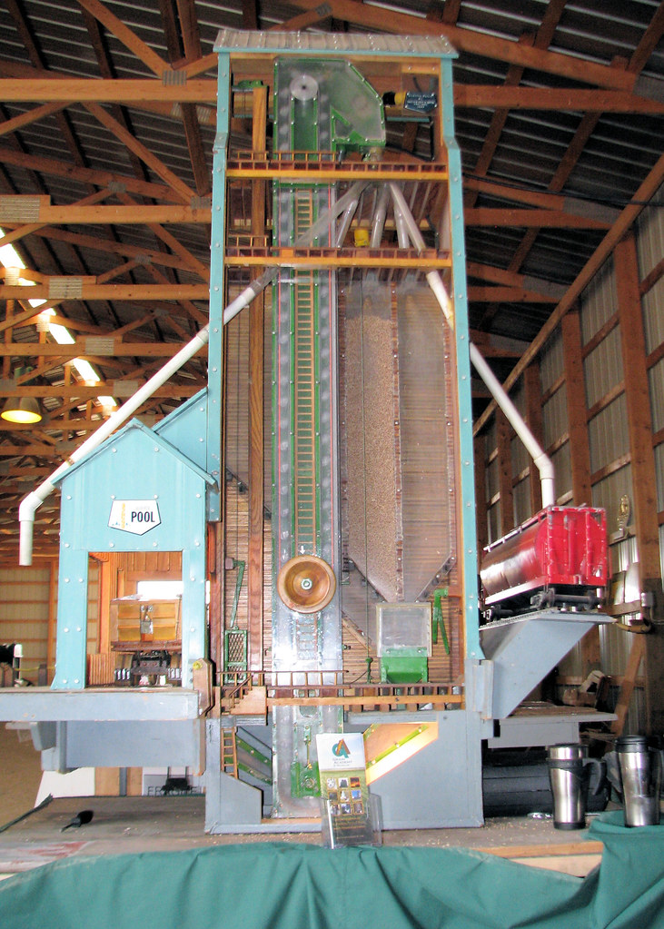 Cutaway Model Of Grain Elevator Bernie Flickr