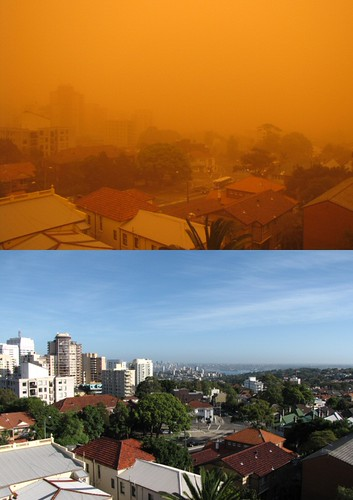 Sydney Dust Storm on 23 Sept 09 | by jujuly25