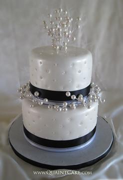 Pearl Wedding Cake Quaintcake Flickr