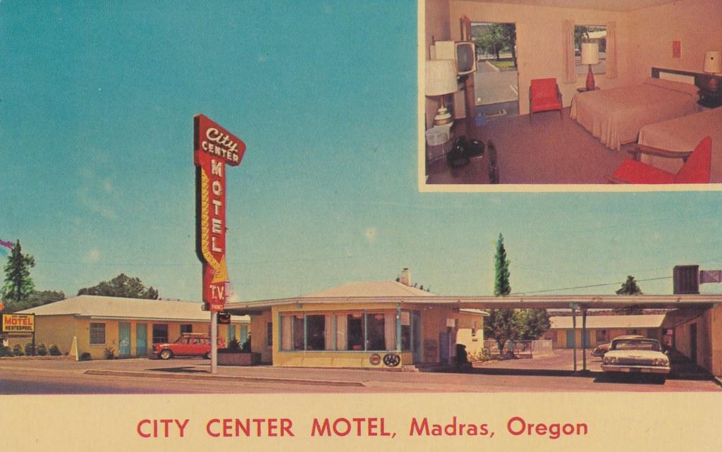 City Center Motel Madras Oregon On Hwy 97 Amp 26 3 Bloc Flickr