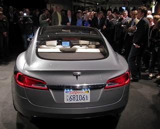 Tesla Sedan Party Video | by jurvetson