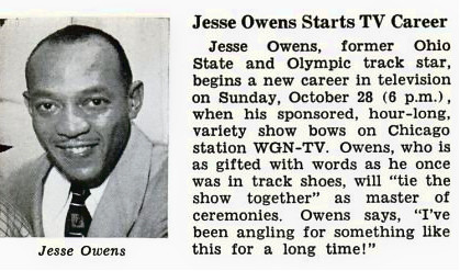 The life and career of jesse owens