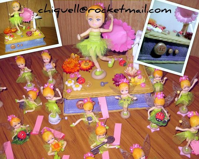 Tinkerbell - campanita Souvenirs de nacimiento | Flickr - Photo ...
