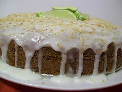 Lime Banana Coconut Cake | by CinnamonKitchn