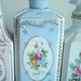 Powdery Blue Perfume Bottle