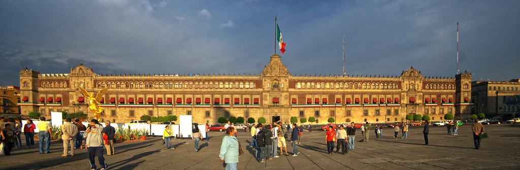 Palacio de gobierno mexico redux esta es una de las for Palacio de los azulejos mexico
