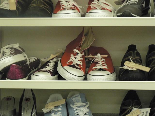 Orange Converse Shoes Men