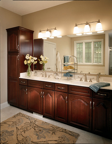 Master bath vanity with linen master bath vanity with