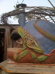 Winged Serpent Oven- BoTierra Farm | by Artisan Builders Collective