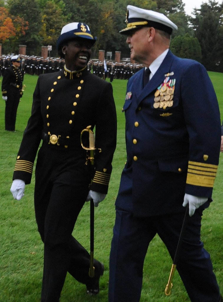 Regimental Commander, Cadet First Class Jacqueline Fitch a ...