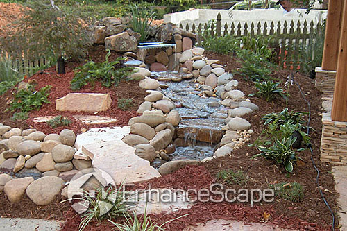 Landscape water ideas landscape water features may for Garden feature ideas