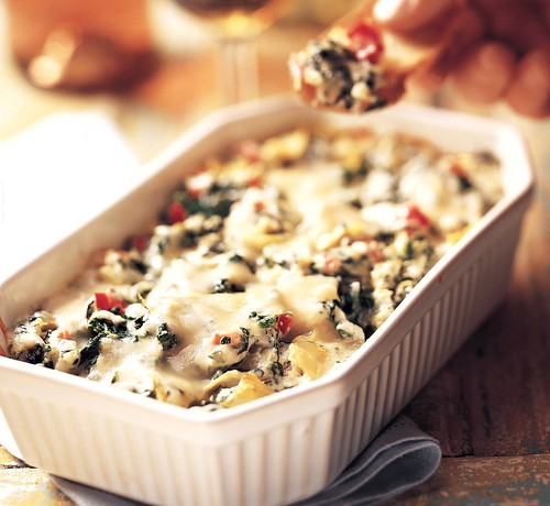 Baked Spinach Artichoke Dip | by Betty Crocker Recipes