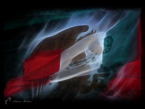 Bandera de mexico | Un... Antonio Banderas