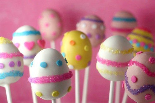 Easter Egg Cake Pops | by Bakerella