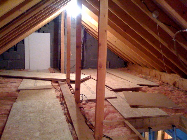 Flooring the attic 27 8x2 t g osb posted via email for Osb t g