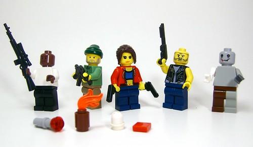 lego 4 dead flickr photo sharing