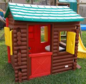 Awesome Little Tikes Log Cabin Playhouse For Sale Is An