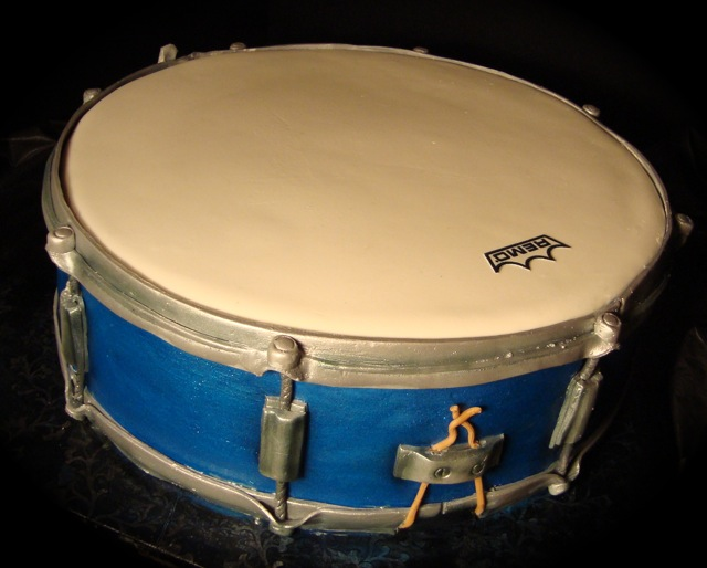 Snare Drum Cake Pictures