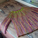 Hand-Dyed Sideways Garter Cardigan