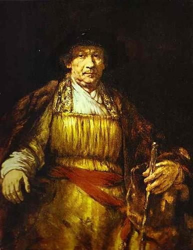 Rembrandt. Portrait of a Noble (Oriental) Man.
