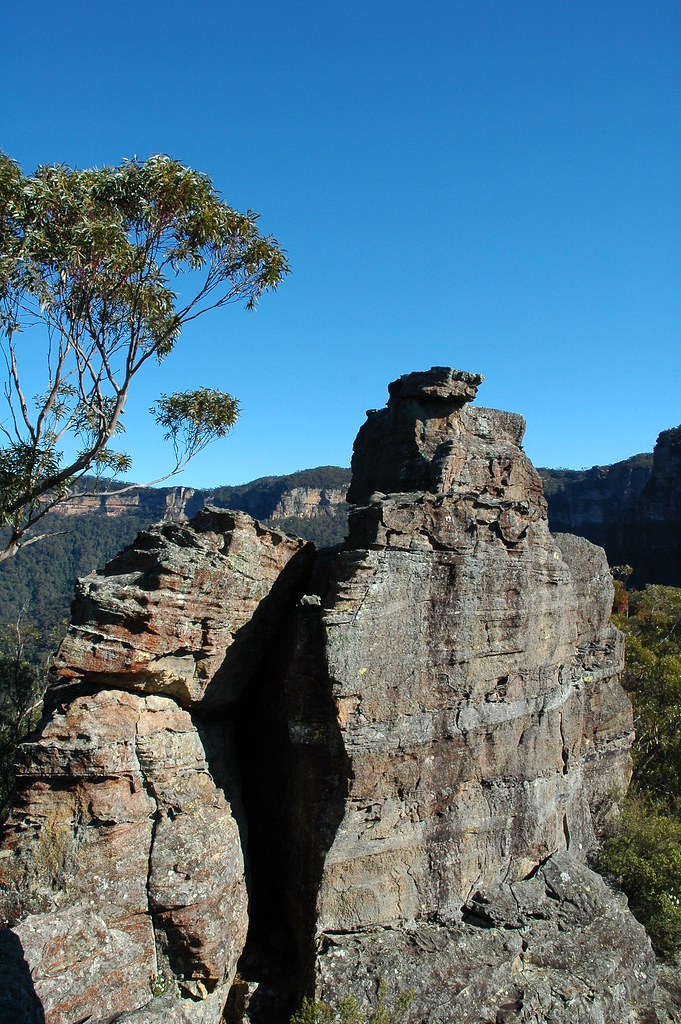 Ruined Castle Blue Mountains Ruined Castle Blue