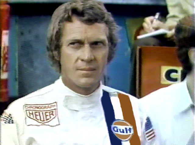 steve mcqueen in le mans this is a video capture from the flickr. Black Bedroom Furniture Sets. Home Design Ideas