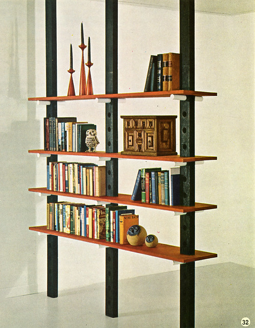 60s Diy Bookshelf Room Divider This Is Such A Good Idea Flickr
