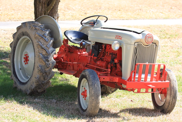 1953 ford golden jubilee tractor flickr photo sharing