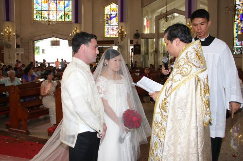 Traditional Catholic Wedding Ochie Bumanlag S Wedding