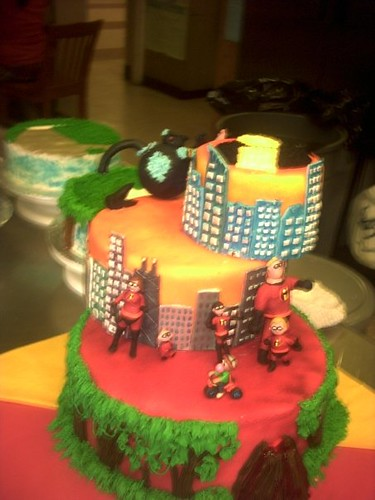 The Incredibles Cake Carnell Honeywoood Flickr