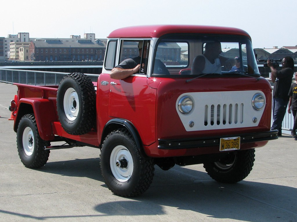1960 Willys Jeep Fc 170 C O E Truck W 36 395 5 Jack