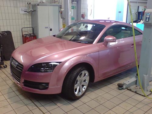 Audi Tt In Nail Varnish Pink Se 242 Ras Flickr