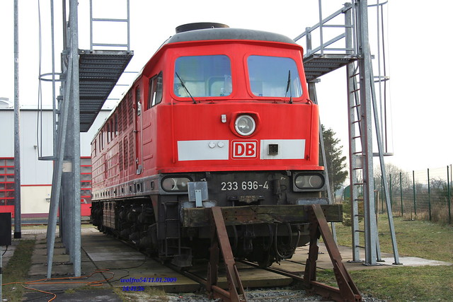 Baureihe 233 696 4 Ex Lok Depot Rostock Seehafen Img