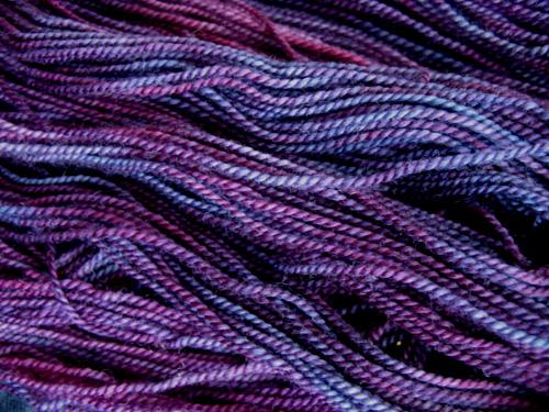 weetsie woolens sock tyrian purple my hand dyed sock yar