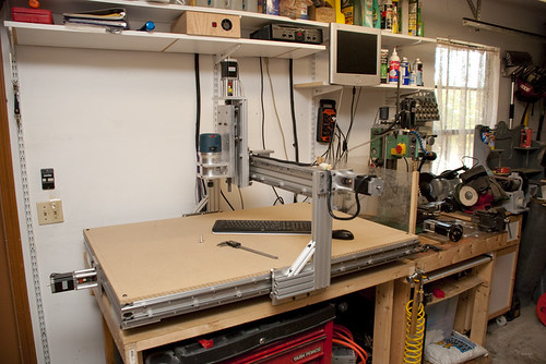 Homemade CNC Router Side Flickr Photo Sharing