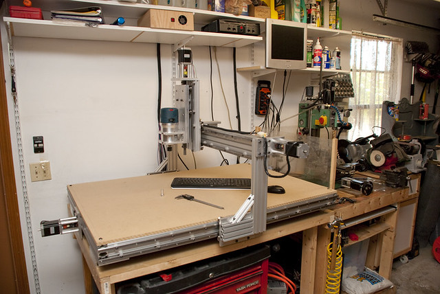 Homemade Cnc Router Side This Is My Homemade 3 X 4 4