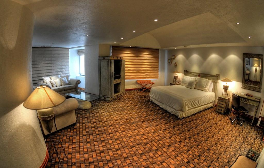 Habitaci n principal suite presidencial hotel camino real - Habitacion principal ...