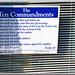 drugstore commandments