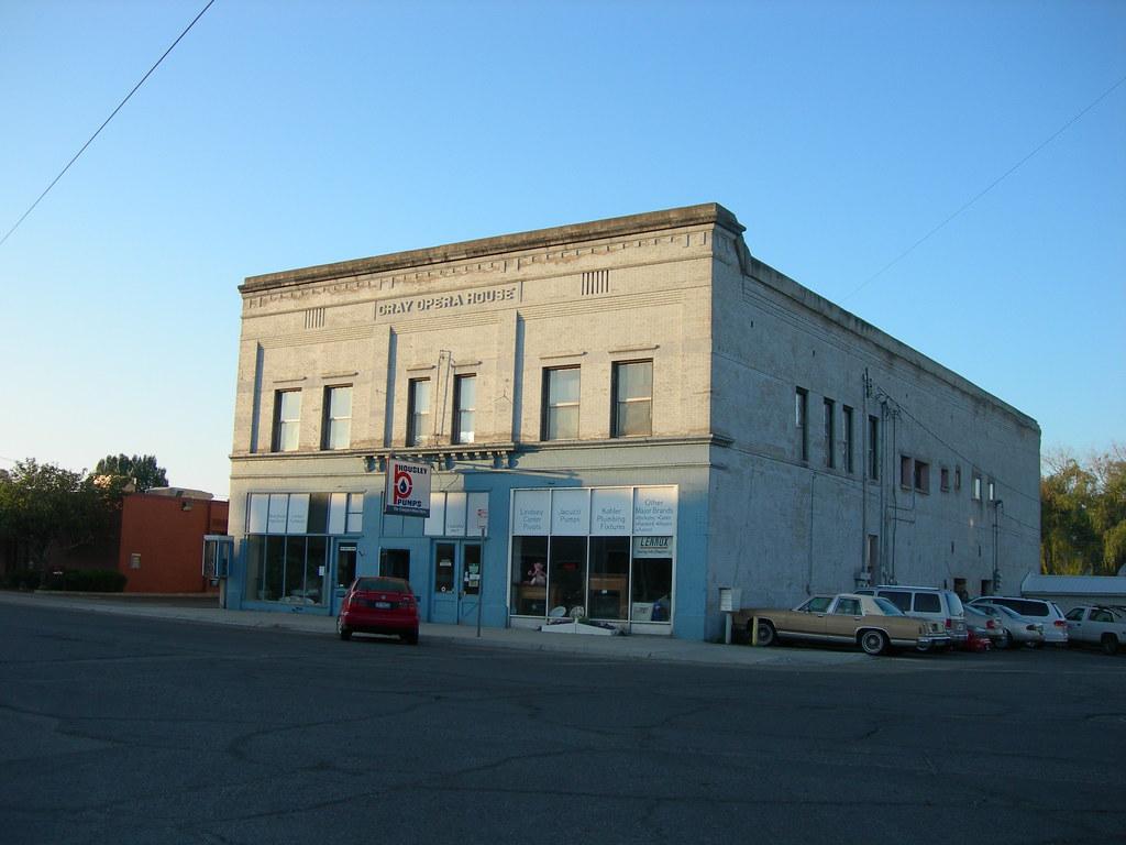 Old Gray Opera House St Anthony Idaho Jimmy Emerson Dvm Flickr