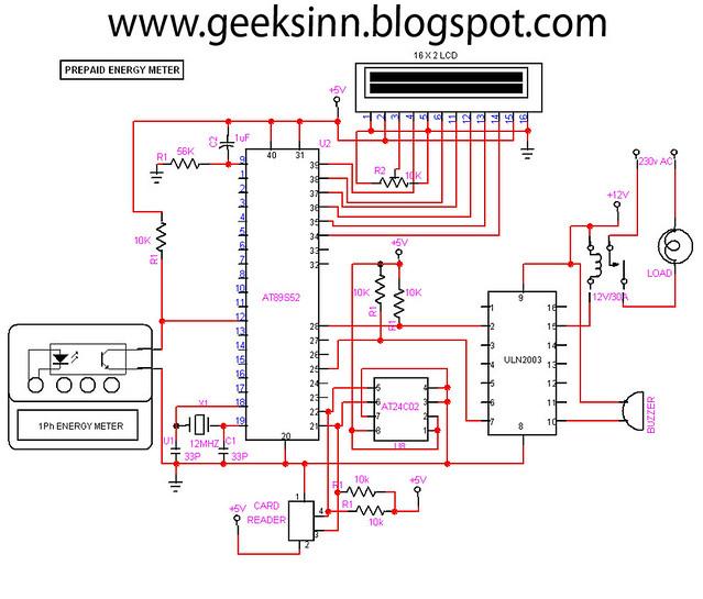Prepaid Energy Meter Circuit Diagram   Circuit For Prepaid Energy Meter Geeksinn Blogspot Com Flickr