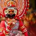 Theyyam at Onam Attahchamyam in Kerala !