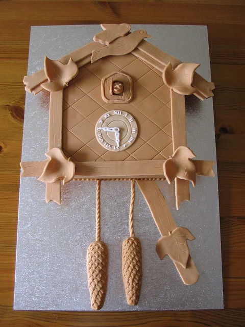 Cuckoo Clock Cake 70th Birthday Cake For Father In Law