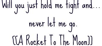A Rocket to the Moon : Baby We're Invincible lyrics