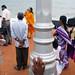 TV interview - Pondicherry, India
