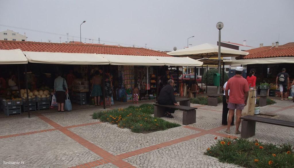 Marché du village de Palheiros da Tocha