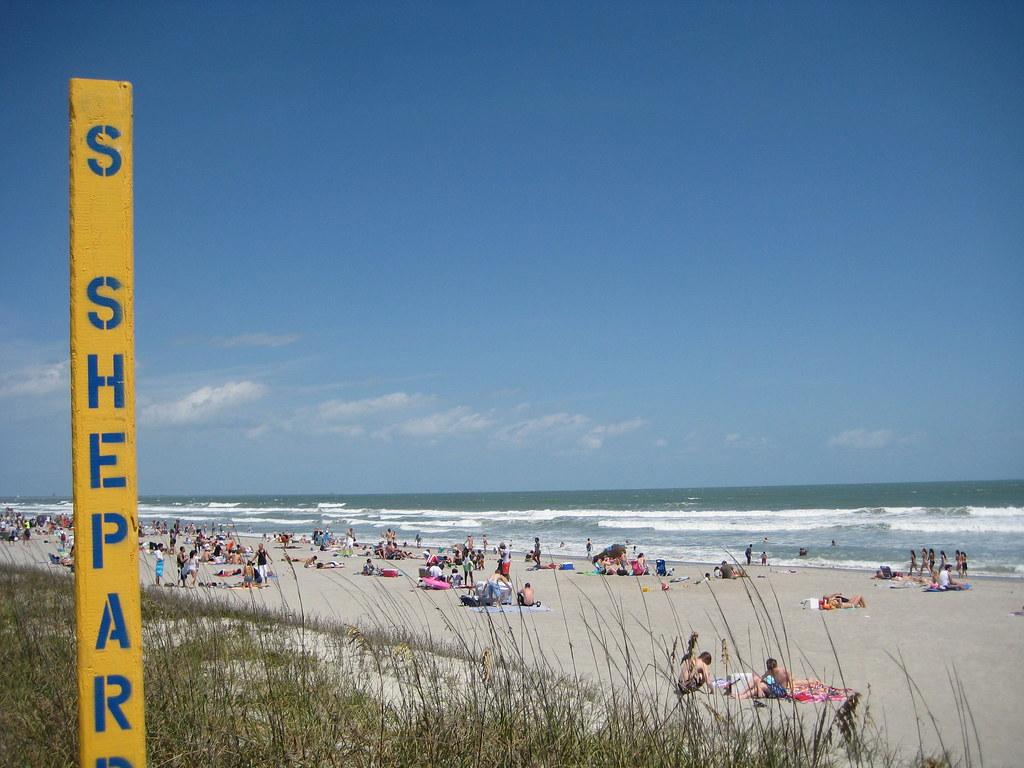Cocoa Beach Florida Beach