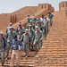 Soldiers tour Ziggurat of Ur